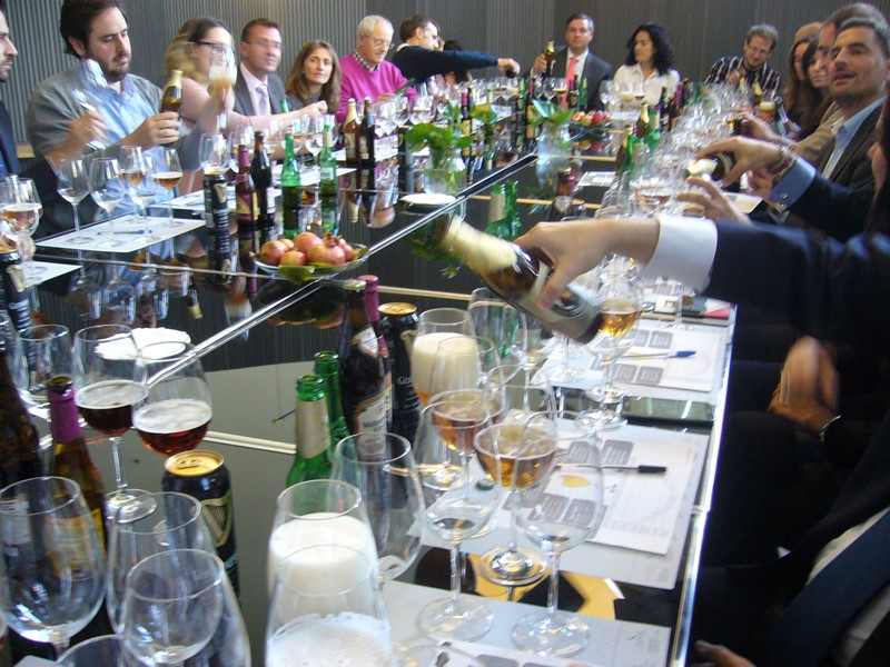 Cata de Cervezas en el Palacio de Cibeles _5_