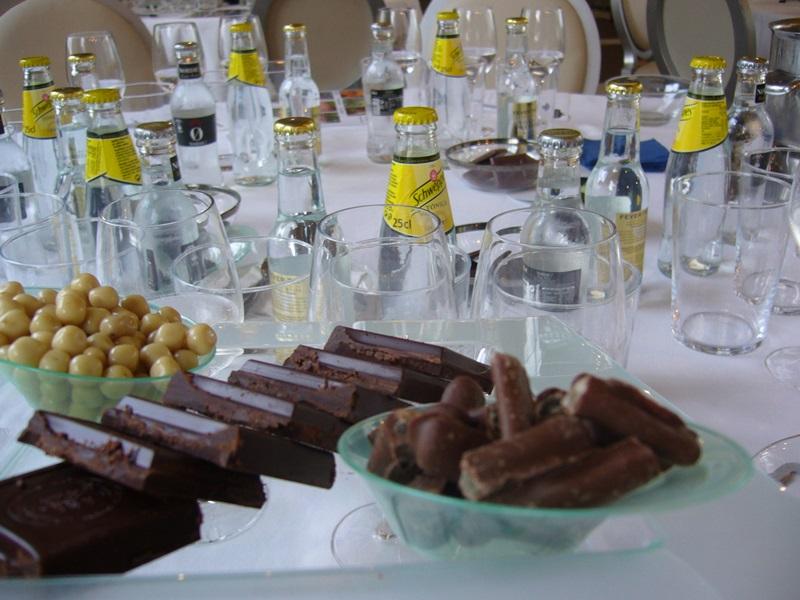 Cata de Gin tonics maridados con chocolates _7_