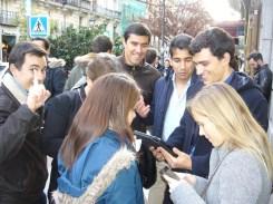 gymkhana con tablets por el Madrid de los Austrias 15_