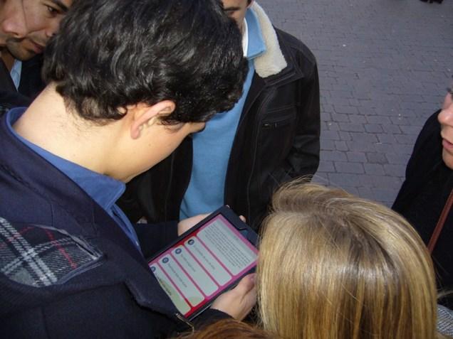 gymkana con tablets por el Madrid de los Austrias 10_