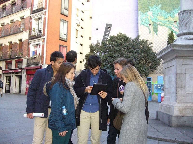 gymkhana con tablets por el Madrid de los Austrias 8_