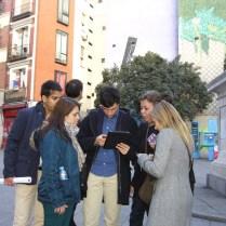 gymkana con ipads por el Madrid de los Austrias 8_