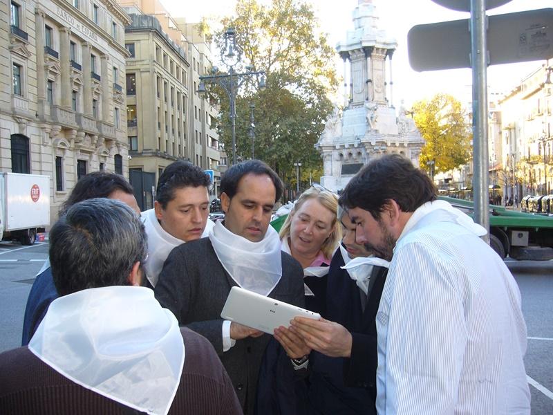 gymkhana con tablets por Pamplona _28_