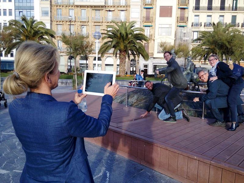 Gymkhana con tablets por San Sebastián _20