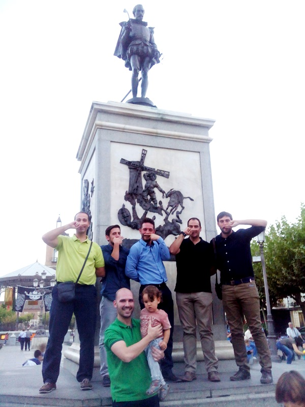 Gymkhana tablet por Alcalá de Henares _17