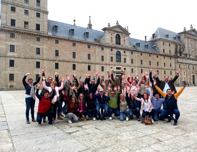 Gymkana team building en El Escorial