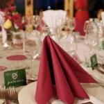 Detalle mesas boda Ramón y Mamen - Eventos Palacios