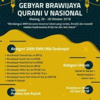 Gebyar Brawijaya Qur'ani V 2018