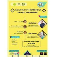 Seminar Entrepreneur 2018 UNJ