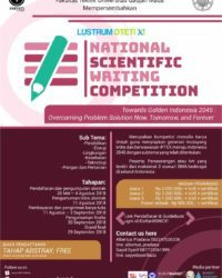 National scientific writing competition 2018