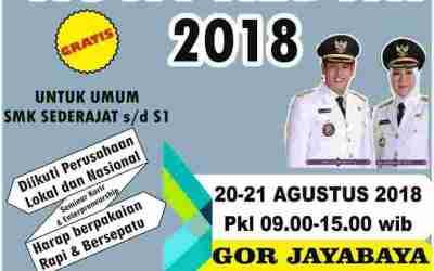 Job Fair Kota Kediri [20-21 Agustus 2018]