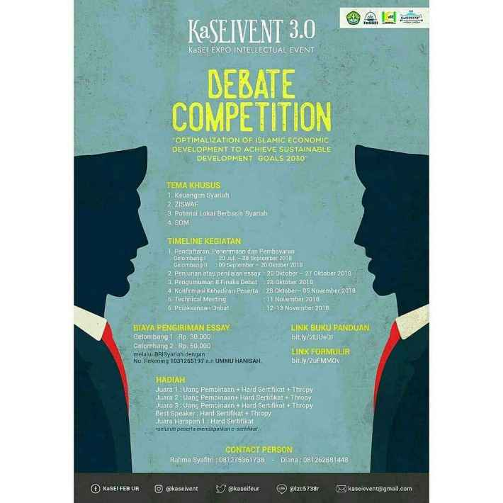 [KaSEIVENT 3] National Debate Competition