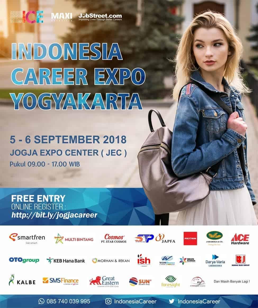 Indonesia Career Expo Yogyakarta [September 2018]