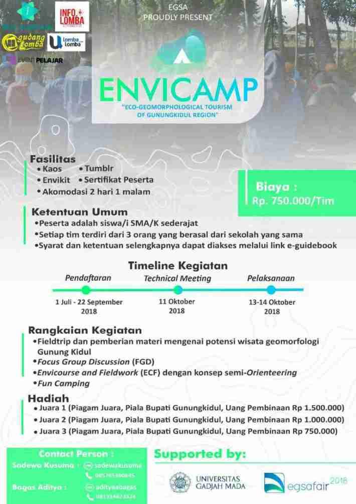 LKTIN dan ENVICAMP EGSA Fair 2018