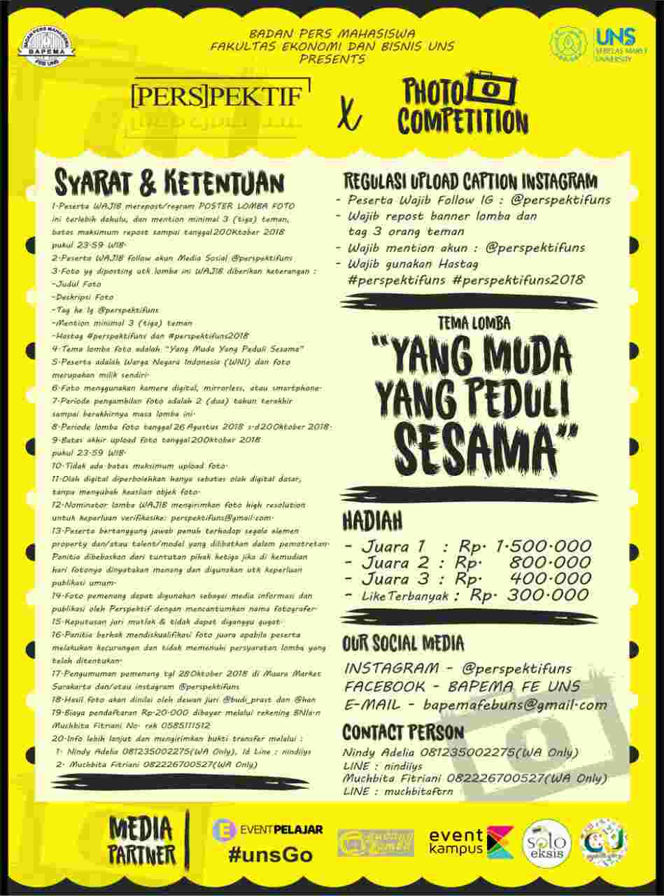 Photography Competition And Exhibition [PERSPEKTIF]