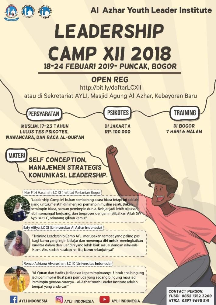 Leadership Camp XII, Tingkatkan Softskill Kamu!