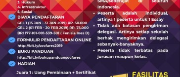 Social Welfare Essay COMPETITION 2019