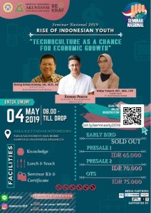 SEMINAR NASIONAL Rise of Indonesian Youth 2019
