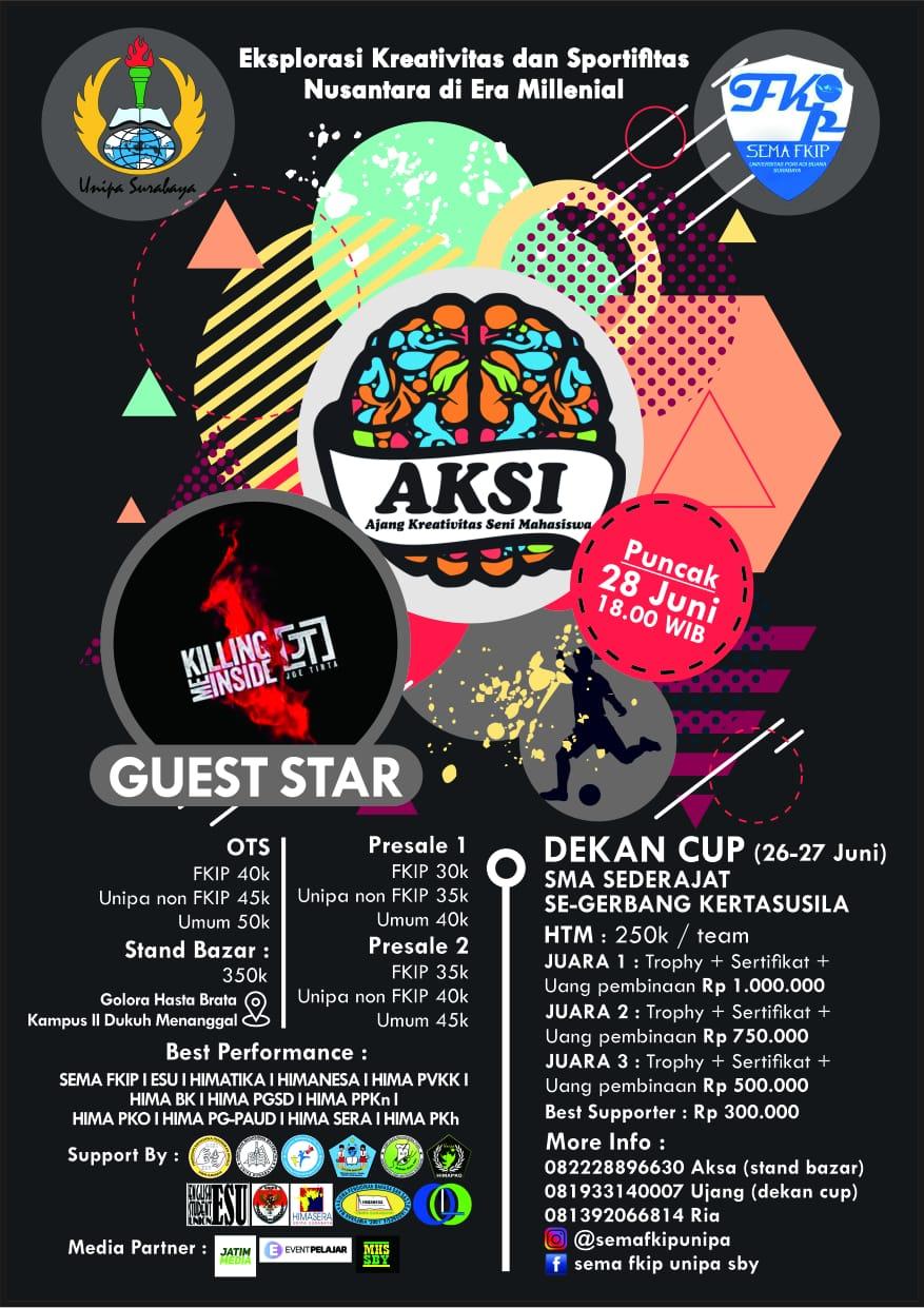 Dies natalis FKIP UNIPA SBY | Event Pelajar