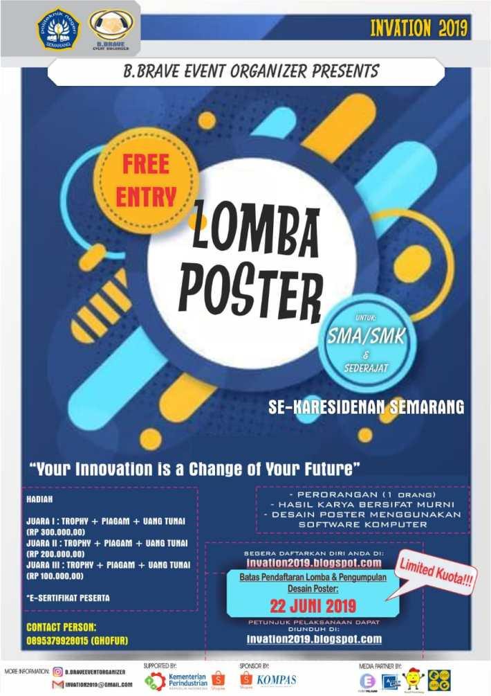 Lomba Poster INVATION 2019