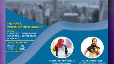 Seminar & Workshop Young Enterpreneur SMKN 1 Surabaya