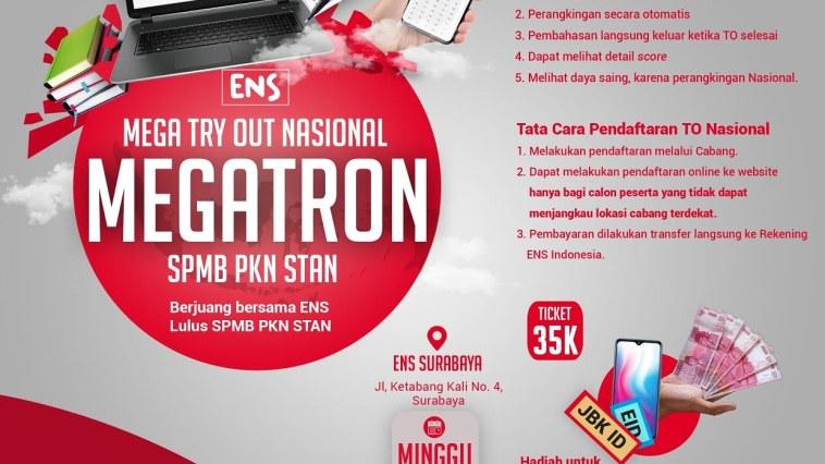 MEGA TRYOUT NASIONAL ENS PKN STAN Surabaya