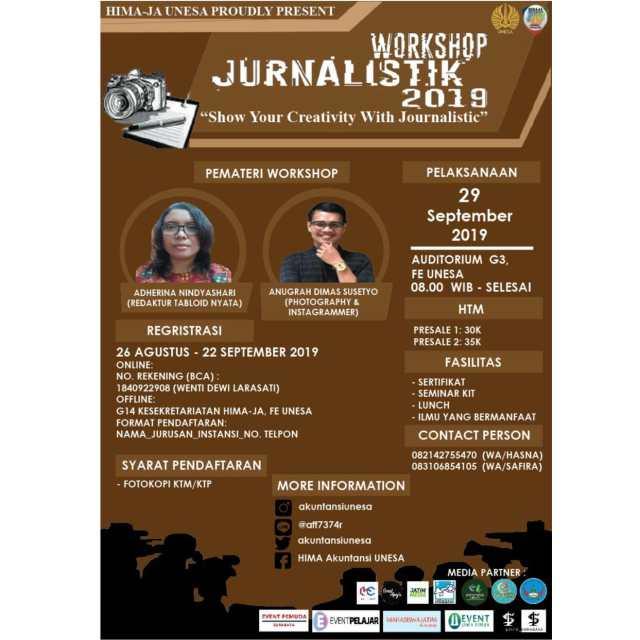 Workshop Jurnalistik 2019 UNESA