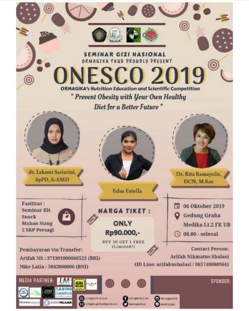 Seminar Gizi Nasional ONESCO FKUB 2019