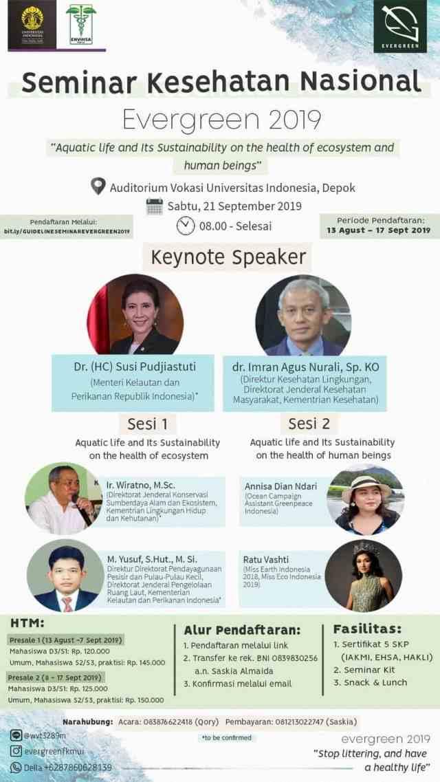 Seminar Kesehatan Nasional Evergreen 2019