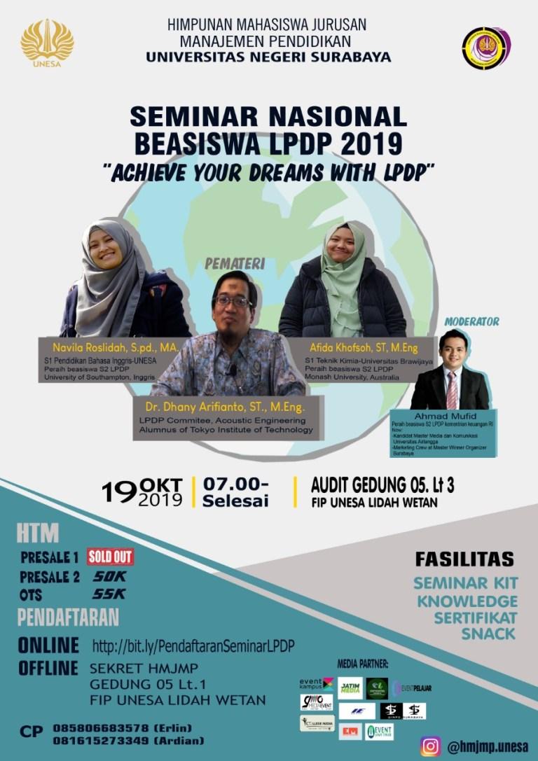 Seminar Nasional LPDP 2019 UNESA