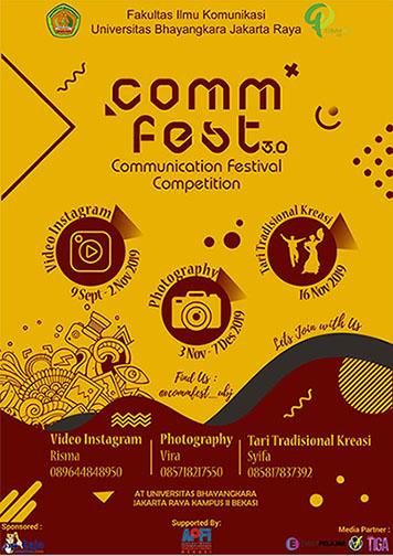 COMMUNICATION FESTIVAL 3.0