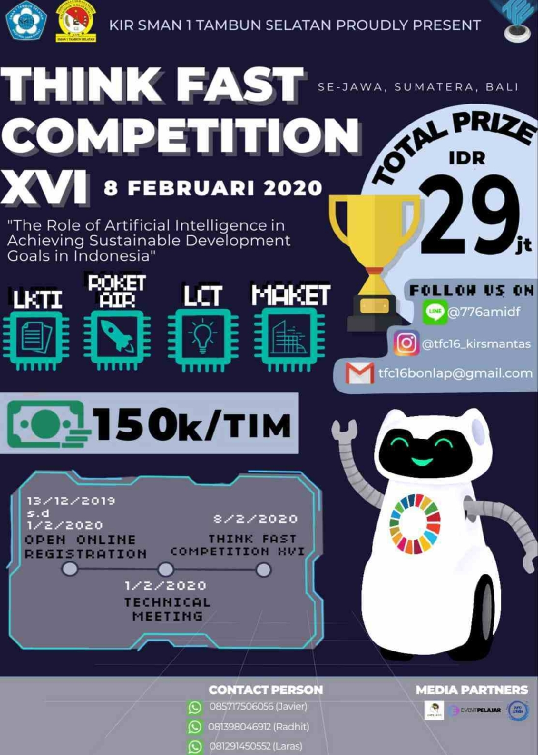 Think Fast Competition 16