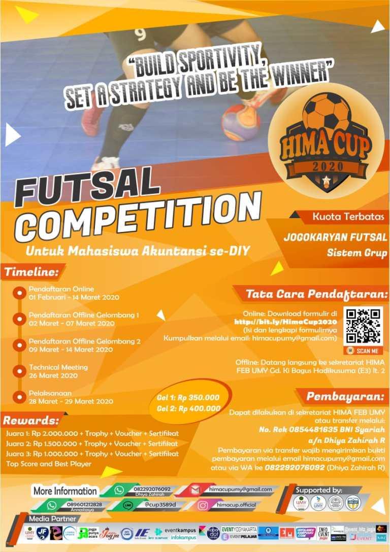 Tournamen Futsal Mahasiswa Akuntansi Se-DIY