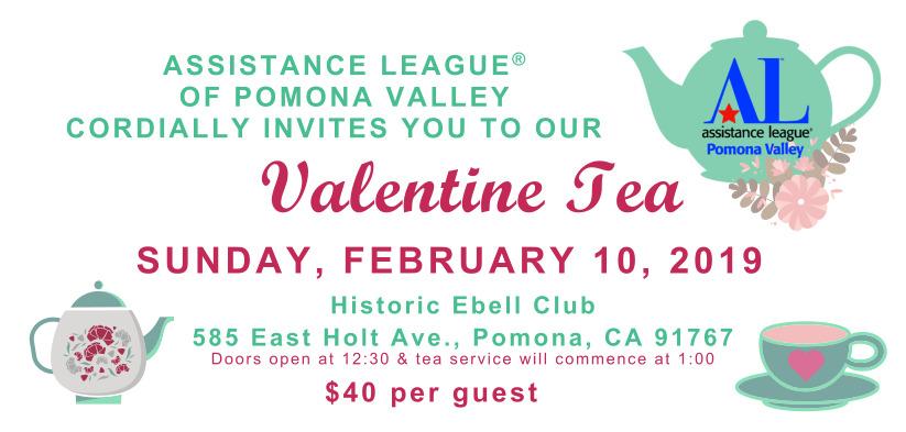 Valentine Tea Admission Ticket