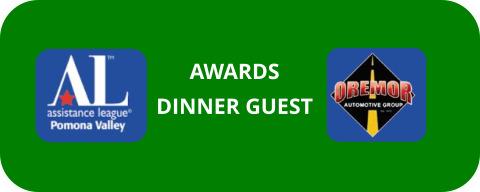 Awards Dinner Guest