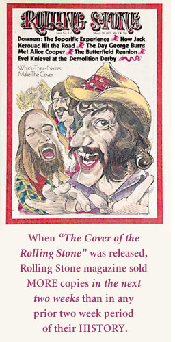 Dr. Hook on Cover of Rolling Stone
