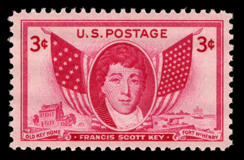 Francis Scott Key Postage Stamp 1948