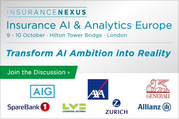 Insurance AI and Analytics Europe