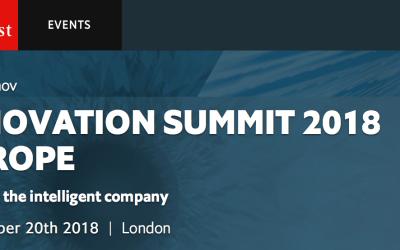The Economist Innovation Summit 2018 – Sept 20th