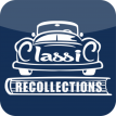 Classic Recollections blue app logo