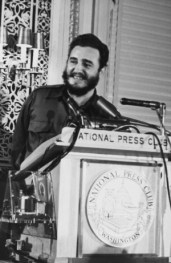Fidel Castro at the National Press Club, 1959