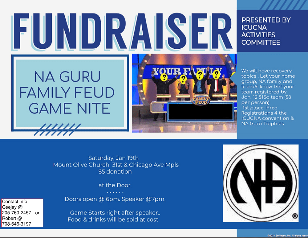 NA Guru Family Feud Game Nite – NA Minnesota Events