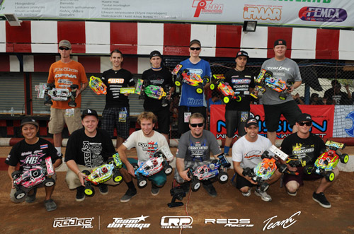 Who's Running What @ IFMAR 2010 1/8 Off-Road Buggy World Championships in Pattaya, Thailand?