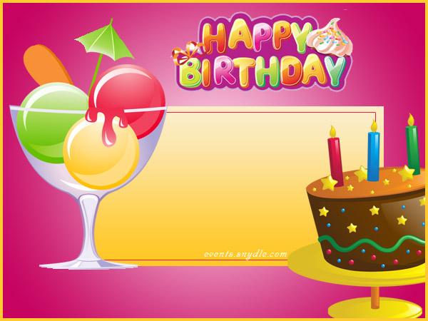 Birthday Cards Festival Around The World