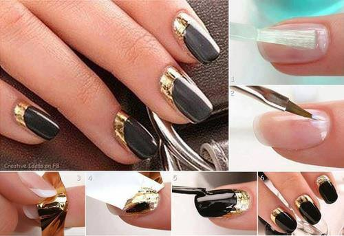 Simple Easy Step By Nail Arts Tutorial