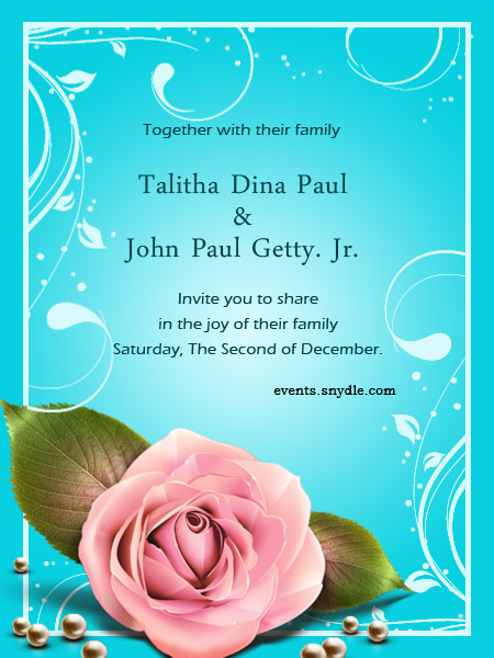 Free Online Wedding Invitation Cards
