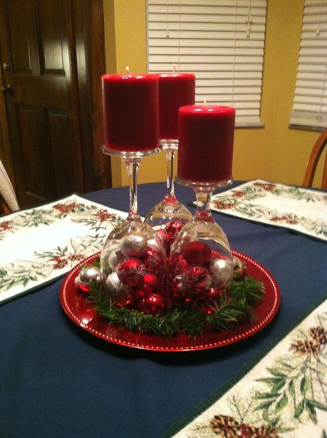 Super Christmas Table Decorations Ideas Sumptuous Design The 25 Best On Pinterest Xmas
