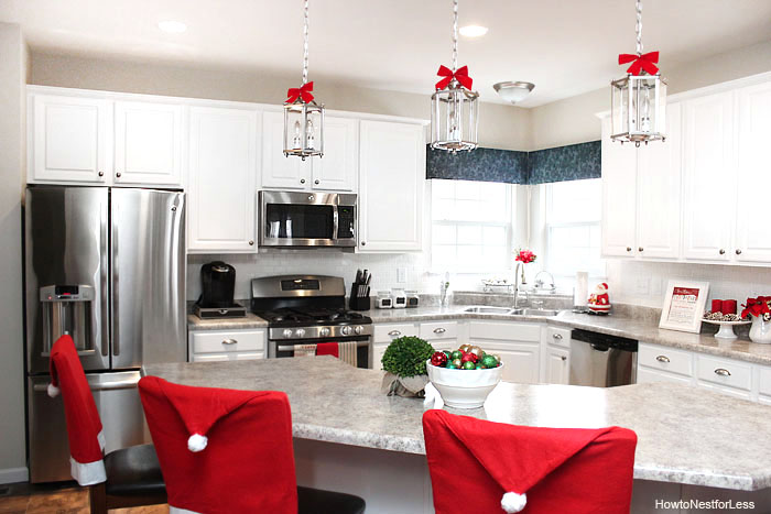 Cozy Christmas Kitchen Decorating Ideas