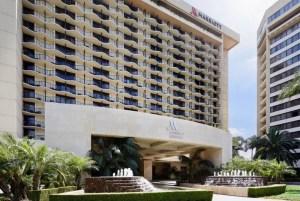 Photo of the Anaheim Marriott Hotel