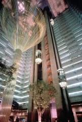 Photo of hotel lobby